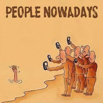 Ilustrasi Menyedihkan Dampak Smartphone 12
