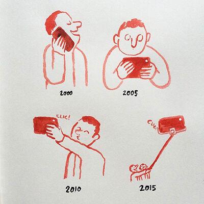 Ilustrasi Menyedihkan Teknologi 2