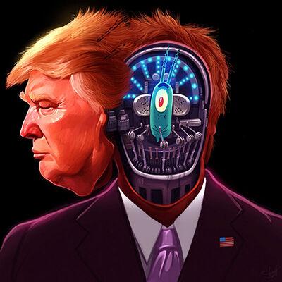 Ilustrasi Trump 4