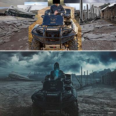 Hasil Photoshop Asal Rusia 4
