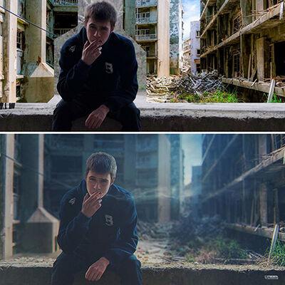 Hasil Photoshop Asal Rusia 8