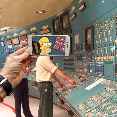 Foto Simpson Di Dunia Nyata 3