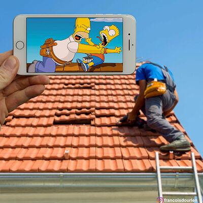 Foto Simpson Di Dunia Nyata 9