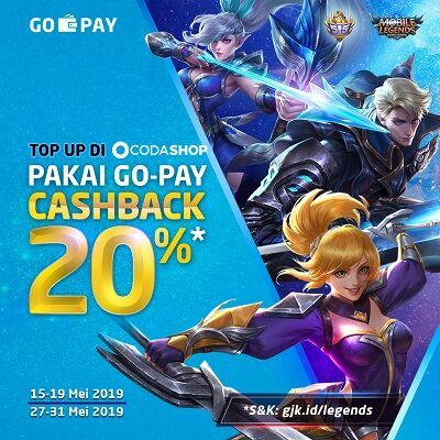 Cashback Gopay Moboile Legends E5369