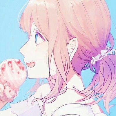 Gambar Anime Couple Keren Terpisah Ice Cream 2 3076a