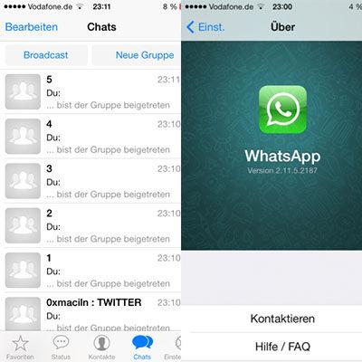 Bocoran Desain Whatsapp For Ios 7 2