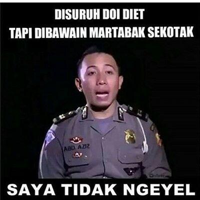 Meme Stop Parkir 13
