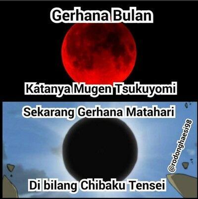 Meme Gerhana Matahari 10