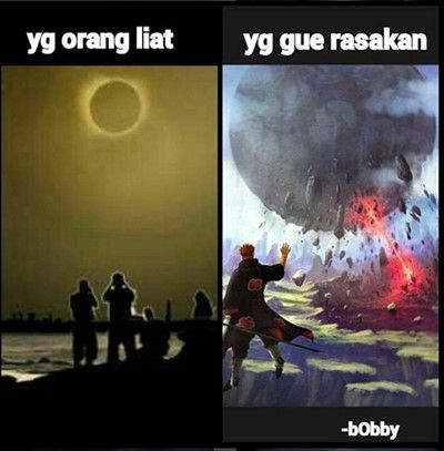 Meme Gerhana Matahari 14