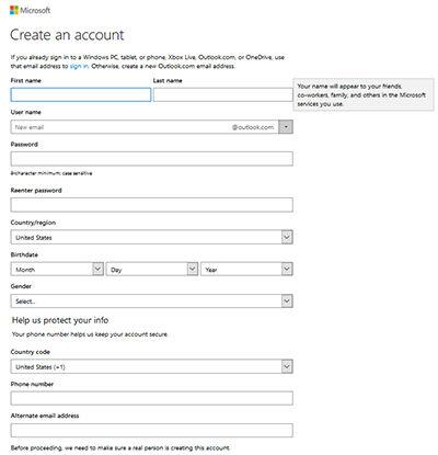 Cara Membuat Email Gratis Di Hotmail Ok
