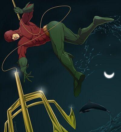 Karakter Marvel Fusion Dengan Dc 30