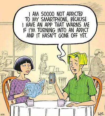 Ilustrasi Menyedihkan Dampak Smartphone 22