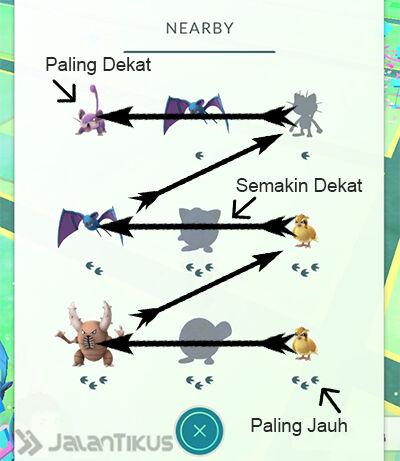 Cara Baca Nearby Saat Main Pokemon Go 32