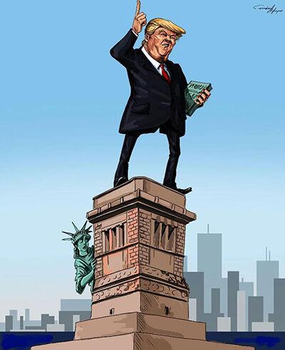 Ilustrasi Trump 15