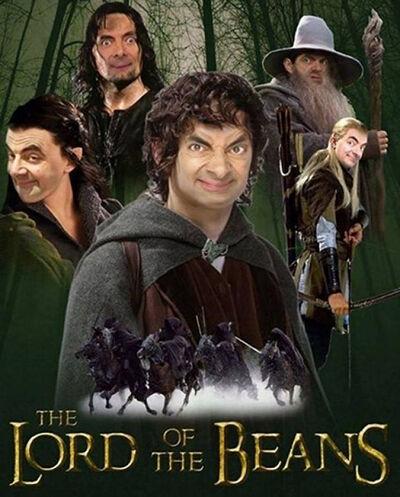 Mr Bean Korban Master Photoshop 9