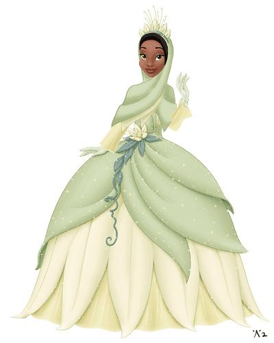 Karakter Disney Berhijab 5