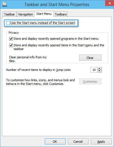 Windows 10 Start Screen2