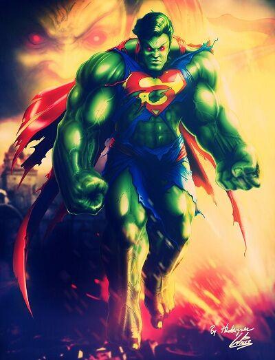 Karakter Marvel Fusion Dengan Dc 21