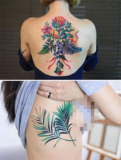 Cewek Tatto Bikin Cowok Ngeres 9