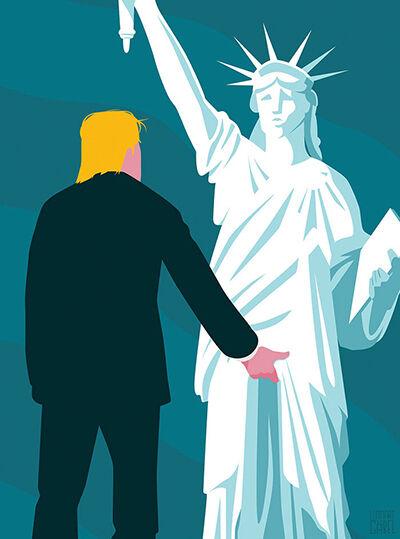 Ilustrasi Trump 2