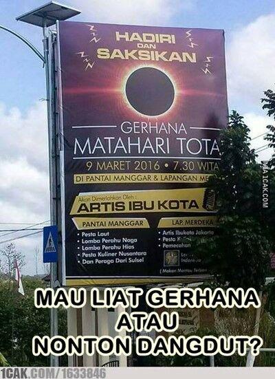 Meme Gerhana Matahari 5