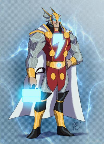 Karakter Marvel Fusion Dengan Dc 1
