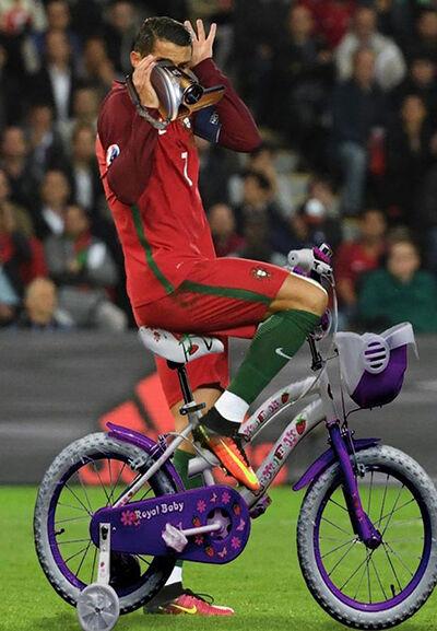 Foto Kocak Ronaldo 11