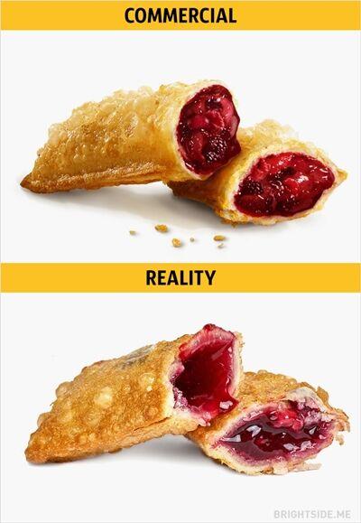 Iklan Vs Realitan Makanan Cepat Saji 1
