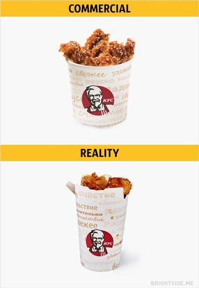 Iklan Vs Realitan Makanan Cepat Saji 10