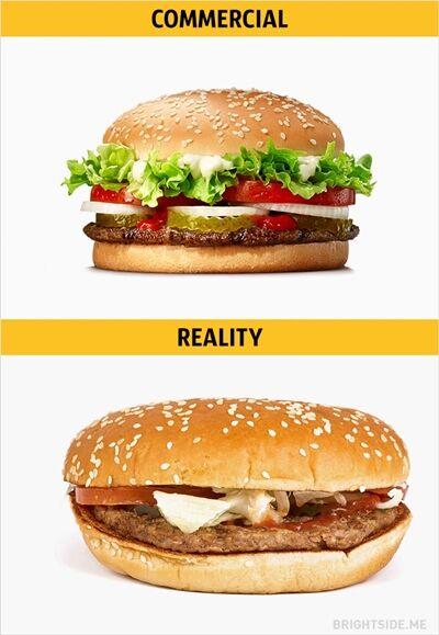 Iklan Vs Realitan Makanan Cepat Saji 14