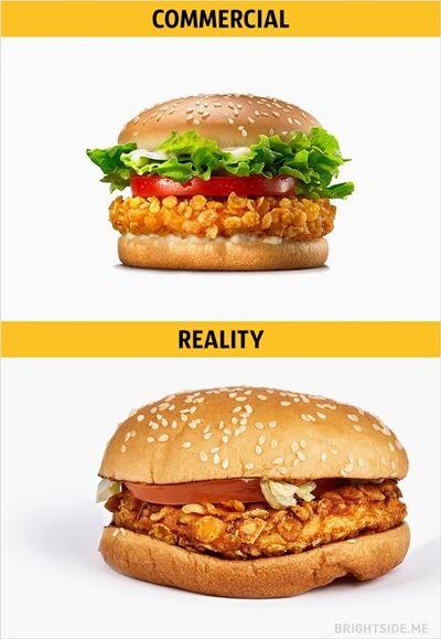 Iklan Vs Realitan Makanan Cepat Saji 15