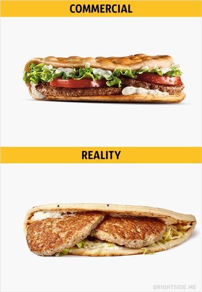 Iklan Vs Realitan Makanan Cepat Saji 2