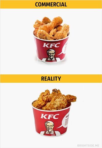 Iklan Vs Realitan Makanan Cepat Saji 8