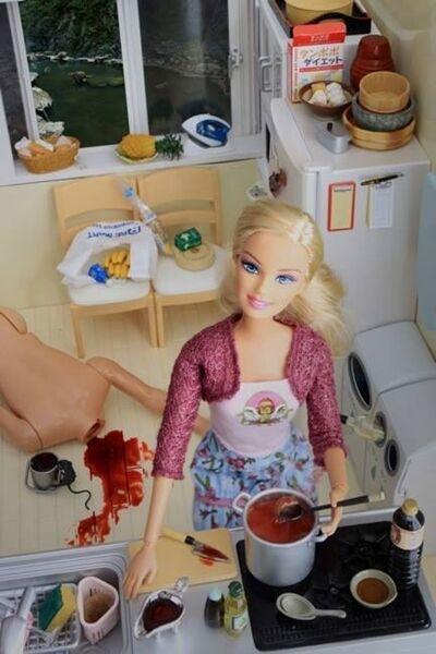 Barbie Paling Sadis 29