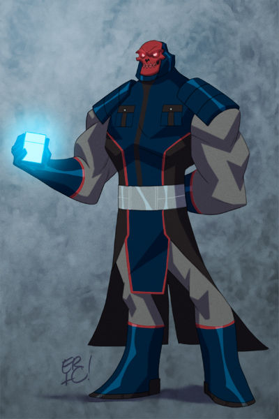 Karakter Marvel Fusion Dengan Dc 10