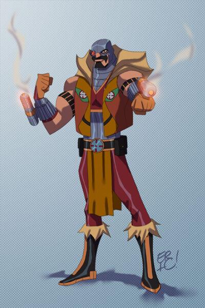 Karakter Marvel Fusion Dengan Dc 12