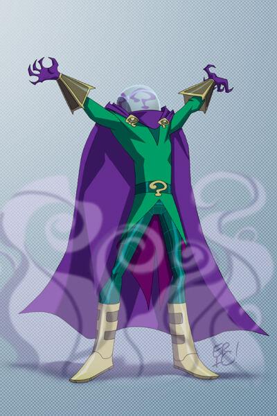 Karakter Marvel Fusion Dengan Dc 13