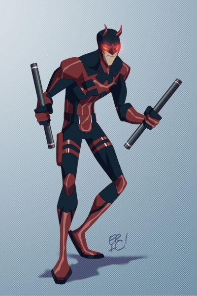 Karakter Marvel Fusion Dengan Dc 8