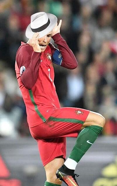 Foto Kocak Ronaldo 4