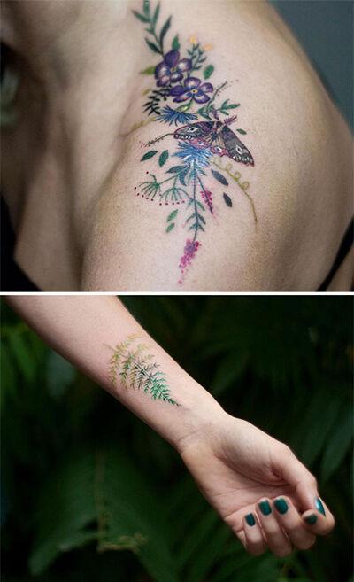 Cewek Tatto Bikin Cowok Ngeres 8