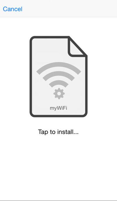 Memindahkan Koneksi Wifi Iphone 4