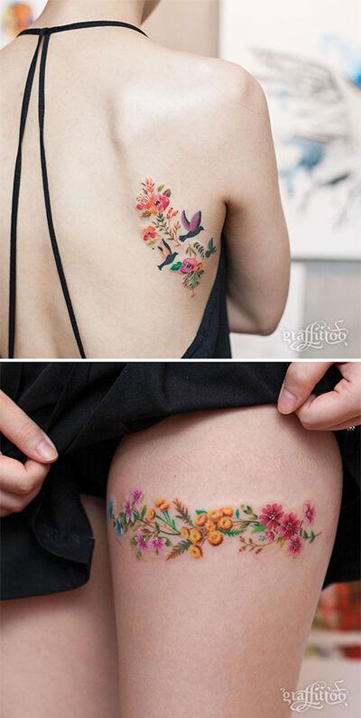 Cewek Tatto Bikin Cowok Ngeres 5