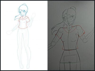 Cara Menggambar Anime 12 51db7