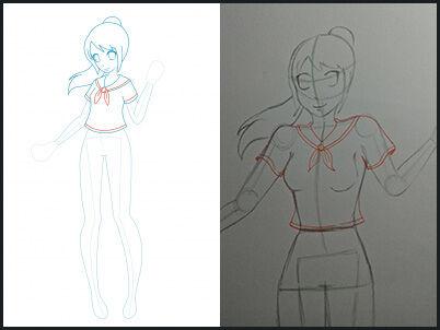 Cara Menggambar Anime 13 1fa3a