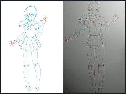 Tutorial Cara Mudah Menggambar Anime Bagi Pemula Jalantikus