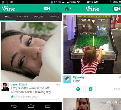 Vine For Android Dirilis Oleh Twitter