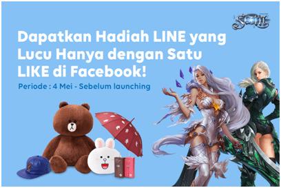 Line Hadiah