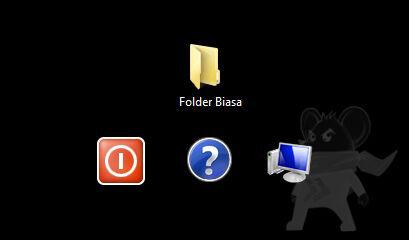 Cara Unik Bikin Folder Tanpa Nama 3