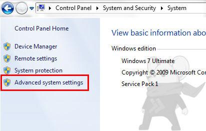 Advanced System Setting
