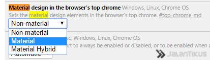 Chrome Material Design 2